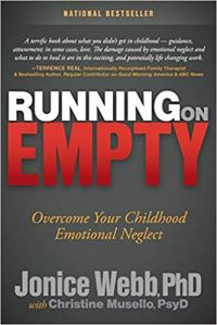 Book cover, Running on Empty by Jonice Webb