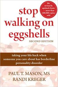 Book cover, Stop Walking on Eggshells by Paul Mason & Randi Kreger