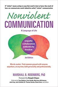 Book cover, Nonviolent Communication by Marshall Rosenberg