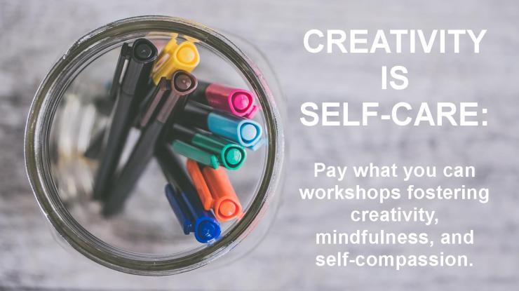 creativity is self care image