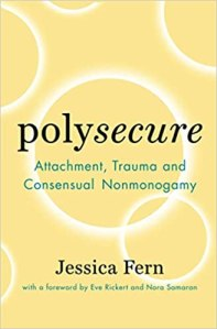 Book cover, Polysecure by Jessica Ferrn